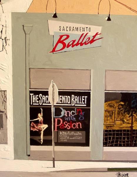 Ballet On K Art Print by Paul Guyer