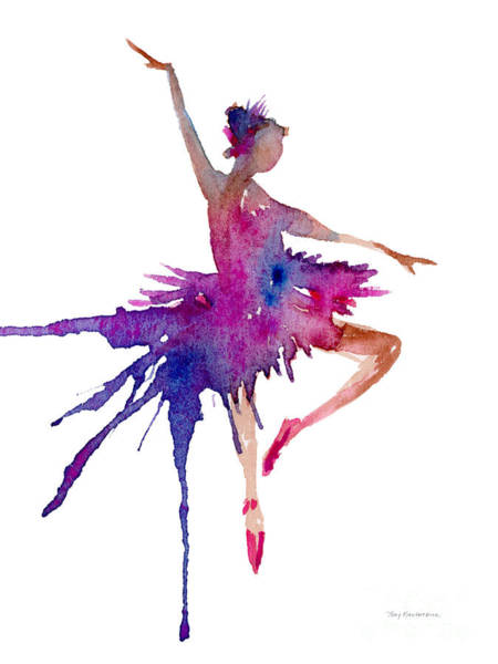 Dance Painting - Ballet Retire Devant by Amy Kirkpatrick
