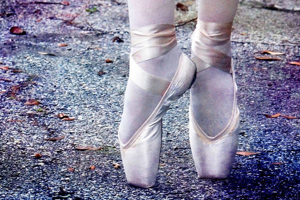 Photograph - Ballet Shoes by Larah McElroy