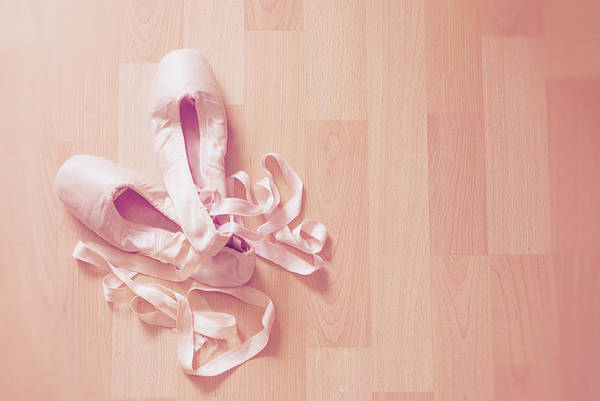 Shoe Photograph - Ballet Shoes by Libertad Leal Photography