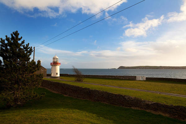 County Waterford Photograph - Ballinacourty Lighthouse, Dungarvan by Panoramic Images
