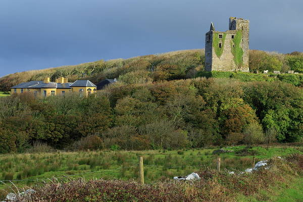 The Burren Photograph - Ballinalackeen Castle Near Doolin, The by Richard Cummins / Robertharding