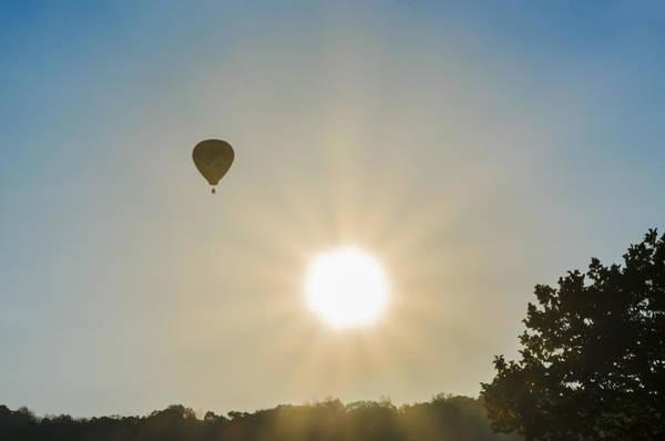 Photograph - Balloon At Sunrise by Bill Cannon