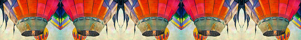 Wall Art - Digital Art - Balloon Banner by Betsy Knapp
