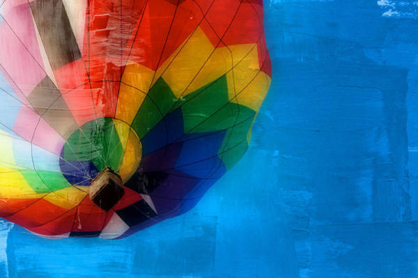 Photograph - Balloon Color Painted by Alice Gipson