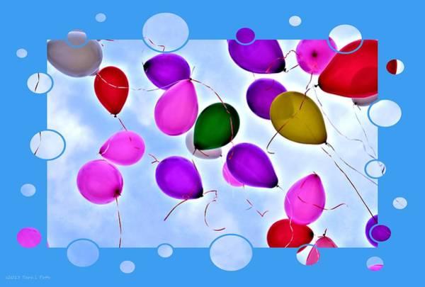 Rockdale County Photograph - Balloon Frenzy by Tara Potts