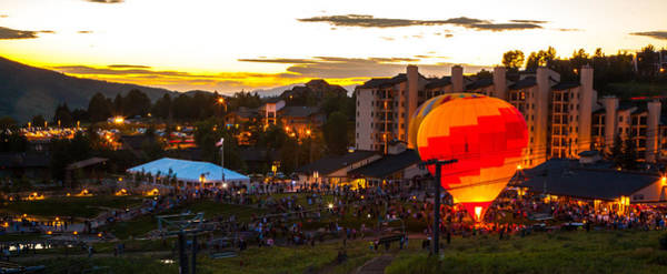 Photograph - Balloon Glow by Kevin  Dietrich