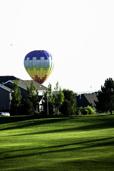 Photograph - Balloon House by Edward Peterson