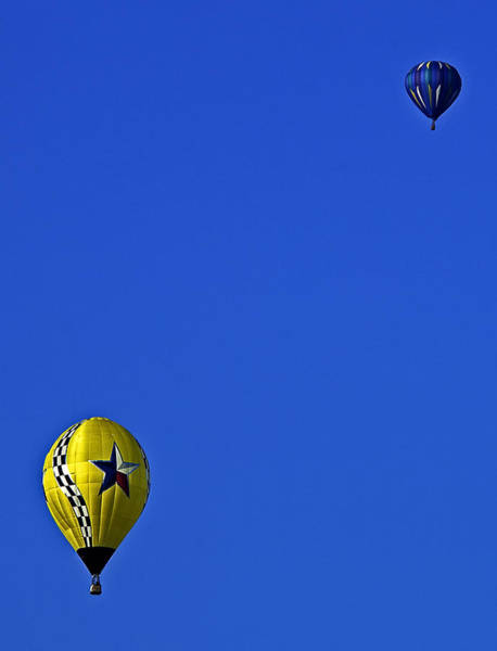 Photograph - Balloon Postcard by Andy Crawford
