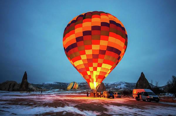 Taking Off Photograph - Balloon Ride, Cappadocia by Nejdetduzen