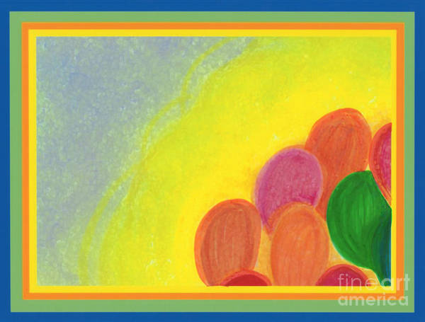 Bright Colours Mixed Media - Balloons By Jrr by First Star Art