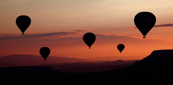 Air Balloon Wall Art - Photograph - Balloons by Engin Karci