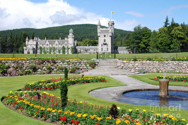 Photograph - Balmoral Castle In Summer by Phil Banks
