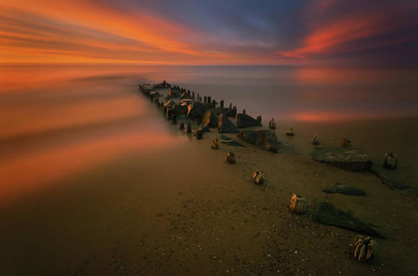 Piers Wall Art - Photograph - Baltic by Krzysztof Browko