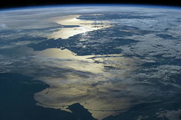 Baltic Sea Seen From The Iss Art Print