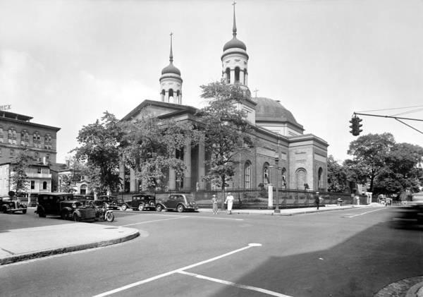 Pickering Photograph - Baltimore Basilica, 1936 by Granger