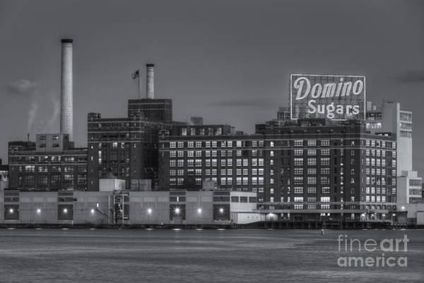 Patapsco Photograph - Baltimore Domino Sugars Plant II by Clarence Holmes
