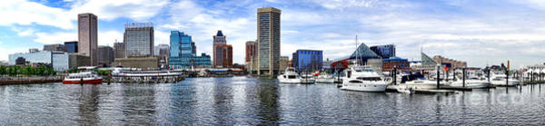 Photograph - Baltimore Inner Harbor Marina by Olivier Le Queinec