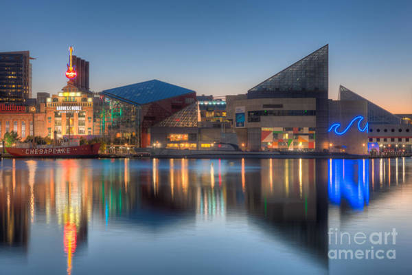 Photograph - Baltimore National Aquarium At Dawn I by Clarence Holmes