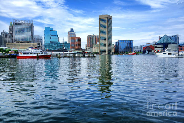 Photograph - Baltimore On The Water by Olivier Le Queinec