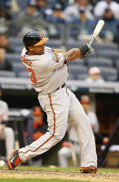 Yankee Stadium Photograph - Baltimore Orioles V New York Yankees by Al Bello