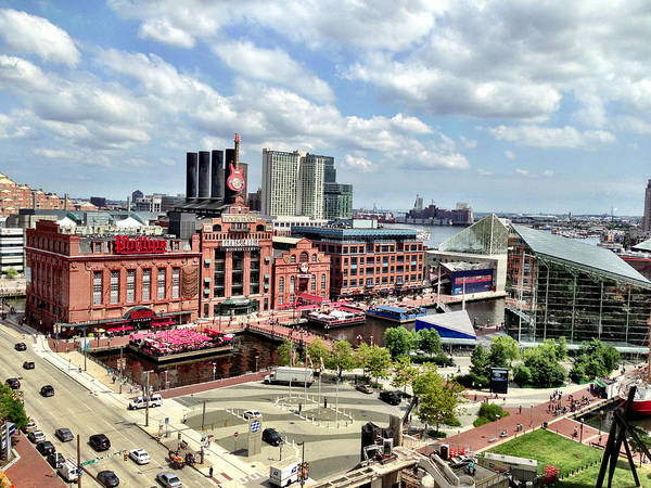 Photograph - Baltimore Power Plant by Chris Montcalmo