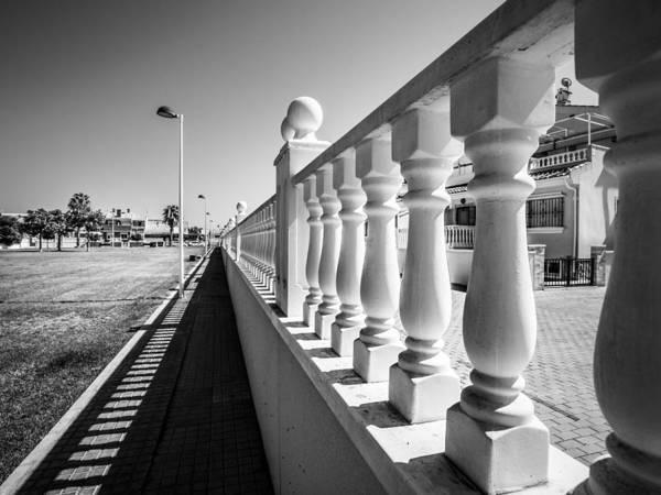 Baluster Wall Art - Photograph - Balustrades. by Gary Gillette