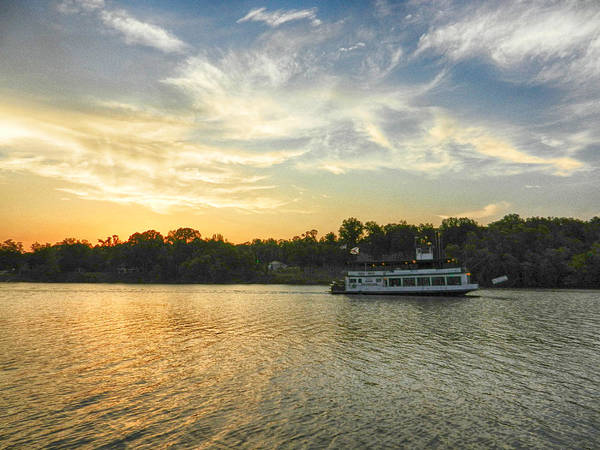 Photograph - Bama Belle Sunset by Ben Shields