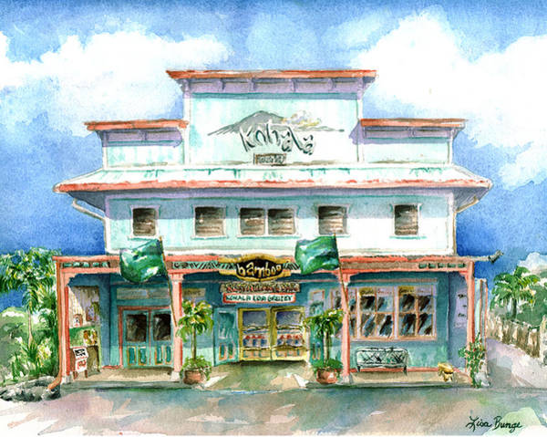 Big Island Painting - Bamboo by Lisa Bunge