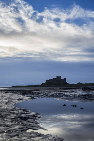 Northumbria Photograph - Bamburgh Castle by David Taylor