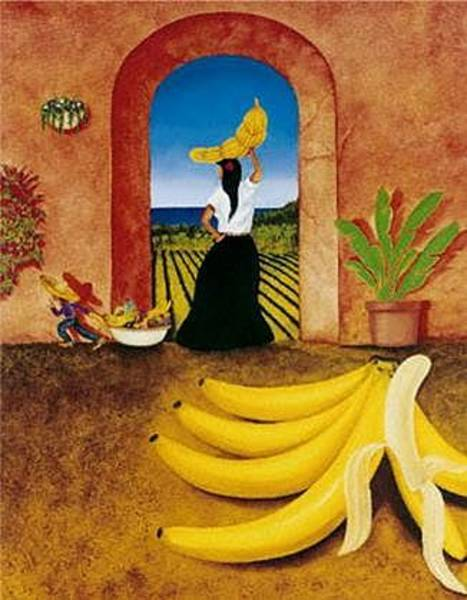 Painting - Banana Bandit by William T Templeton