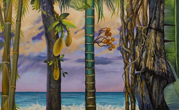 Wall Art - Painting - Banana Country by Vrindavan Das