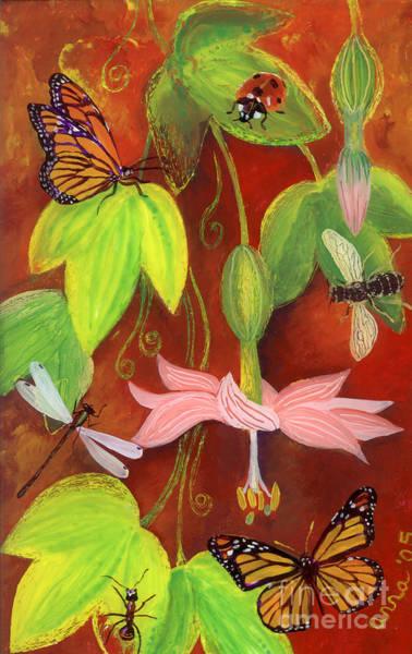 Painting - Bananapoka by Anna Skaradzinska