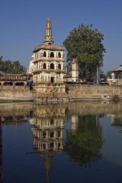 Photograph - Banashankari  Temple by Maria Heyens
