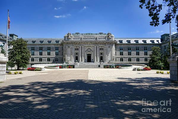 State College Photograph - Bancroft Hall by Olivier Le Queinec