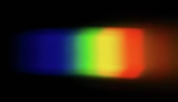 Optics Photograph - Band Of Light by Dorling Kindersley/uig