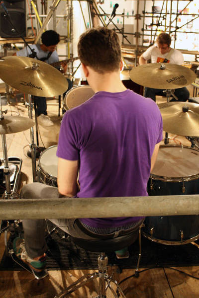 Photograph - Band Practice by Ismael Cavazos