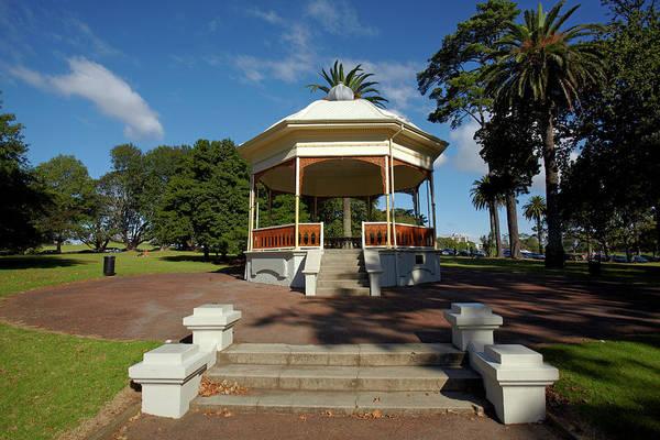 Auckland Photograph - Band Rotunda, Auckland Domain by David Wall