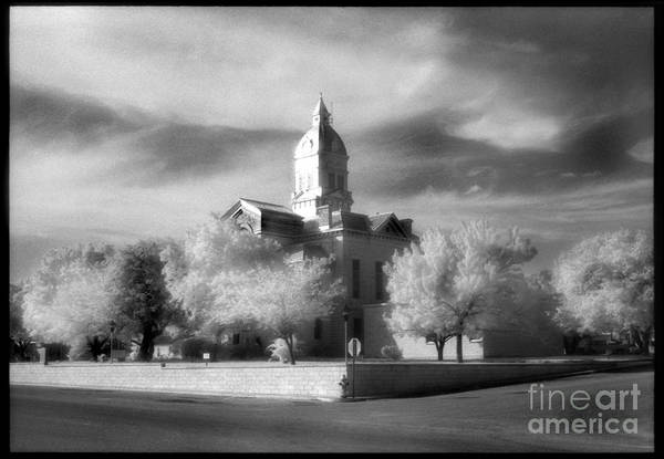 Lost River State Park Wall Art - Photograph - Bandera County Courthouse by Greg Kopriva
