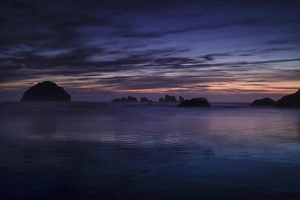 Wall Art - Photograph - Bandon Beach At Twilight by Andrew Soundarajan