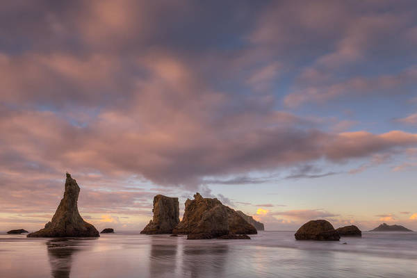 Wizard Hat Wall Art - Photograph - Bandon Beach Morning by Dan Mihai