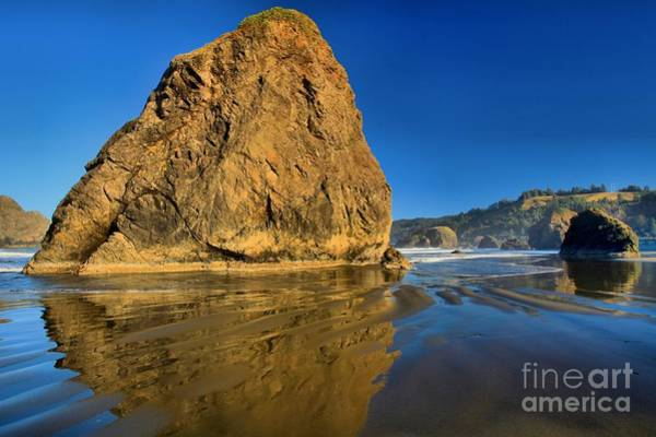 Photograph - Bandon Beach Ripples by Adam Jewell