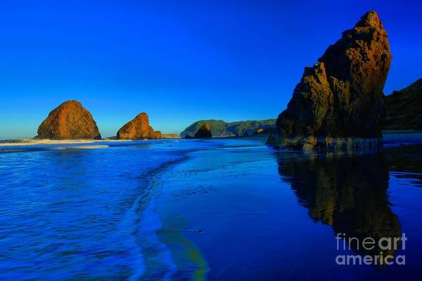 Photograph - Bandon Blue And Gold by Adam Jewell