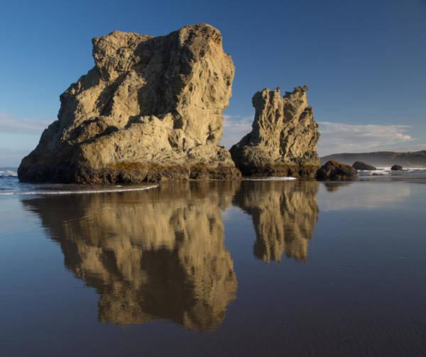 Wall Art - Photograph - Bandon Seastack Reflections by Bridget Calip