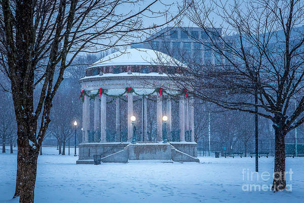 Photograph - Bandstand Holiday by Susan Cole Kelly