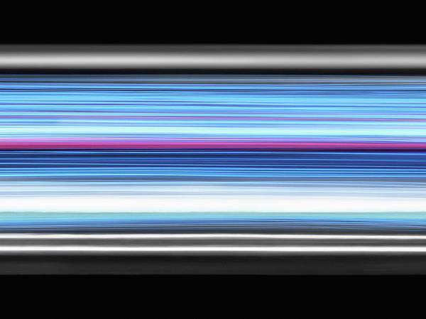 Horizontal Stripes Photograph - Bandwidth And Data by Steven Puetzer
