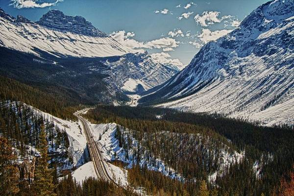 Canada Photograph - Banff Icefields Parkway Sunwapta Pass by © Anthony Maw, Vancouver, Canada