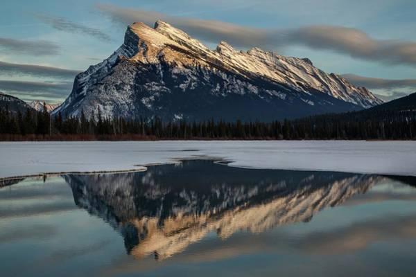 Vermillion Lakes Wall Art - Photograph - Banff National Park, Canadian Rockies by James R.d. Scott