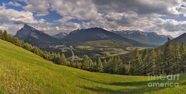 Photograph - Banff Valley Panorama by Charles Kozierok