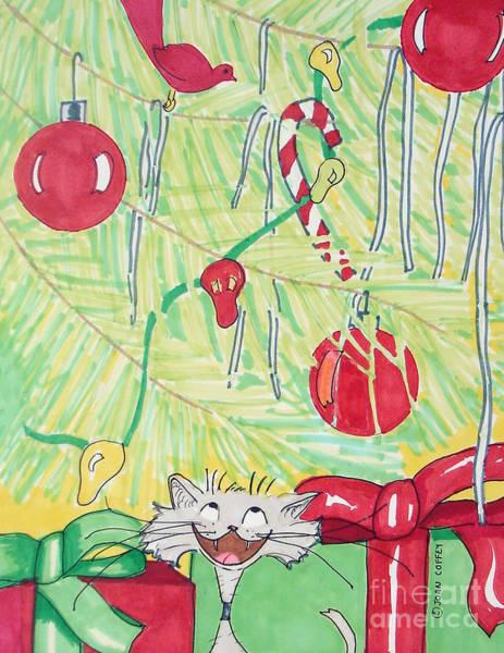 Painting - Bang And Tree by Joan Coffey
